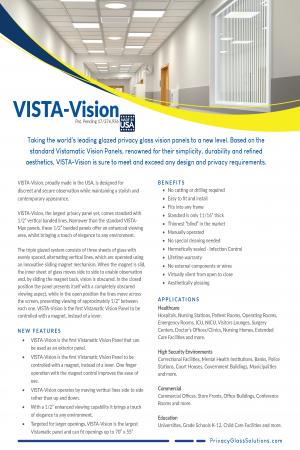 VISTA-Vision PDS pg 1